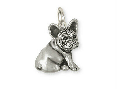 Sterling Silver French Bulldog Charm Jewelry - FR23-C