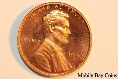 Incredible 1970-S Lincoln Memorial Rev. Penny - Proof Cameo (LPX808)