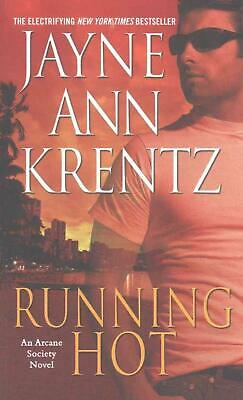 Running Hot by Jayne Ann Krentz (English) Mass Market Paperback Book Free Shippi