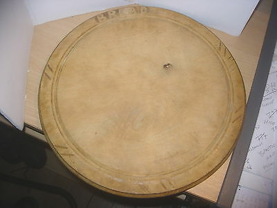 "VINTAGE SHABBY CHIC WELSH CARVED 12"" BREAD BOARD"