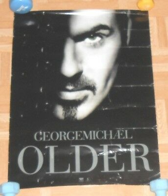 George Michael Older Promo 1996 Poster Wham 24x18