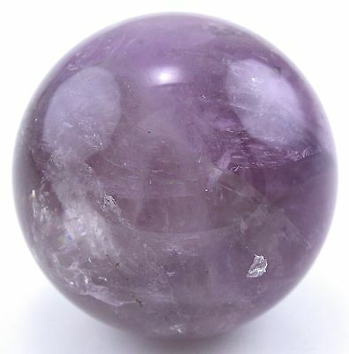 Crystal Allies Gallery: Natural Amethyst Sphere w/ Crystal Allies Stone Card