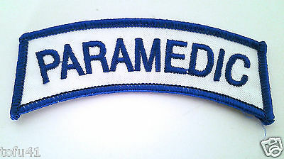 PARAMEDIC TAB EMT/FIRE/RESCUE Patch PM3409 EE