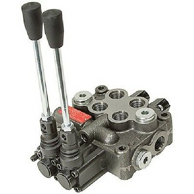 Prince Manufacturing Wolverine 2 Two Spool Hydraulic Valve MB21BB5C1 8 GPM 4W3P