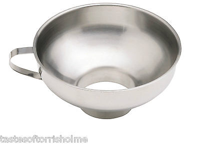 Kitchen Craft Stainless Steel Extra Wide Necked Jam Pouring Funnel