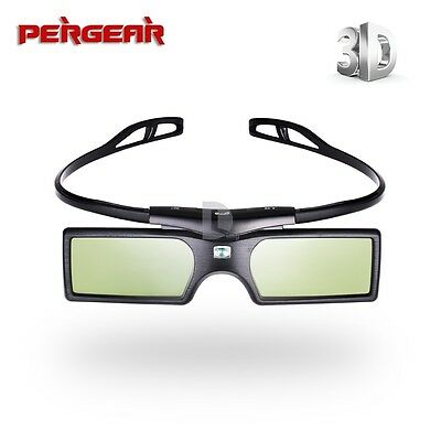 Bluetooth Active Shutter 3D Glasses F Samsung SONY Sharp 3D HDTV Blue-ray player