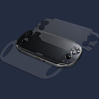 3 X Full Body Front And Back Lcd Screen Protectors For Sony Ps Vita