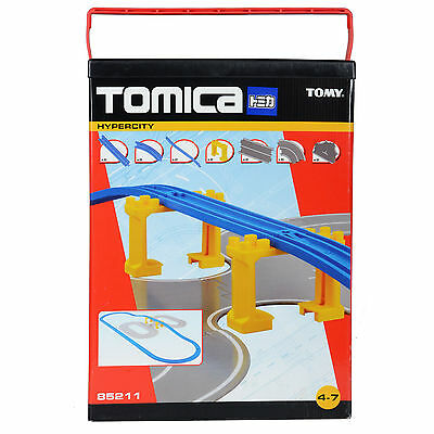 Childrens Tomy Tomica Hypercity Road & Rail Extention Pack Train Toy Set - 85211