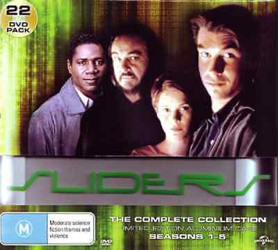 Sliders the Complete Collection DVD NEW