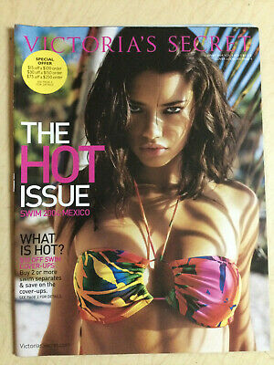 Victoria's Secret 2004 THE HOT ISSUE Mexico Adriana Lima sexy Busty cover