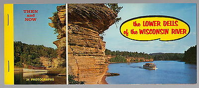 LOWER DELLS of the WISCONSIN RIVER ~ c1960's Postcard Pack