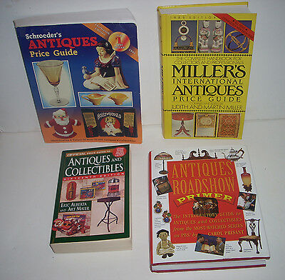 Lot 4  Large Antique Vintage Collectible Price Guides Books