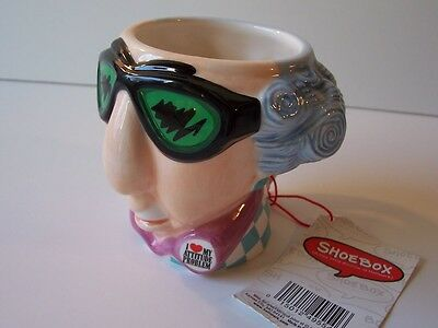Hallmark Shoebox Maxine Figural Coffee Mug 3-D NWT I Love My Attitude Problem