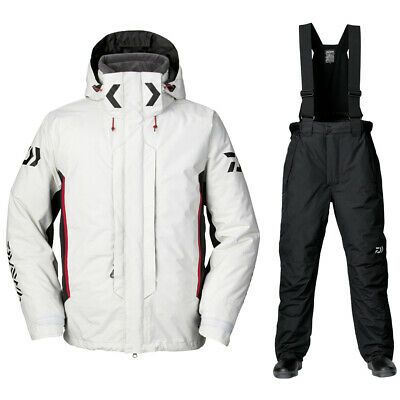 Daiwa Rainmax Hyper Combi Up Hi Loft Winter Suit Weiß Thermoanzug Daiwa Shop