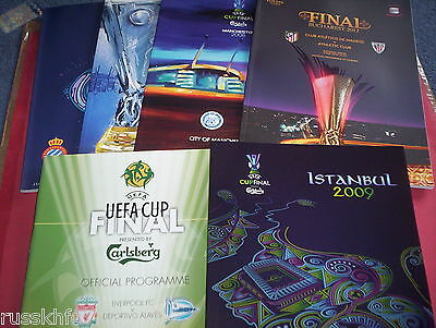 Uefa Cup Finals / Europa League Finals