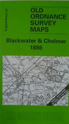 Old Ordnance Survey Maps Blackwater & Chelmer 1886 & Map of Tollesbury  S241 New