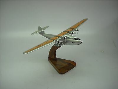 M-130 Pan Am Clipper Four Engine Seaplane Aircraft Wood Model BIG Free Shipping