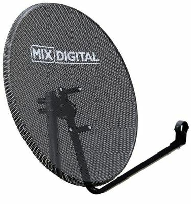 1.1m Mix Digital Mesh Satellite Dish with Pole Mount Fittings 110cm Brand New