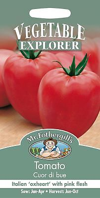 Mr Fothergills - Pictorial Packet - Vegetable - Tomato Cour di bue - 75 Seeds