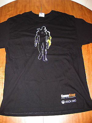 MASS EFFECT 3 large T shirt video-game tee Xbox 360 combat Commander Shepard
