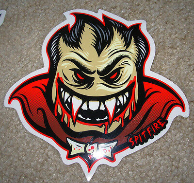 "SPITFIRE Bloodlust Skate Sticker 6.5 X 6.5"" great for skateboards helmets decal"