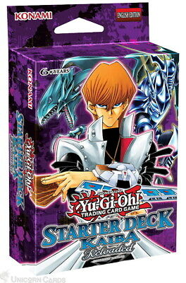Yu-Gi-Oh! Starter Deck: Kaiba Reloaded - New and Sealed Box -50 Cards + Game Mat