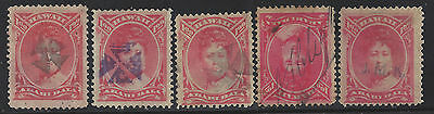 Hawaii Complete Set Rare Opium Cancels