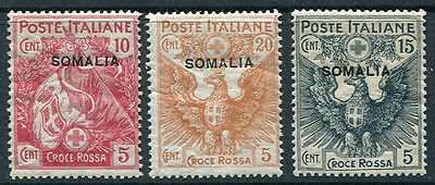SOMALIA ~ #B1 - 3 Beautiful Mint Never Hinged Set SCARCE ~ S5330