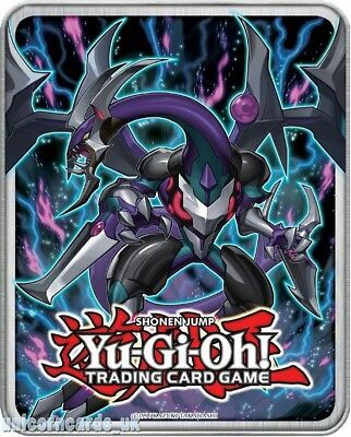 YuGiOh! Collector Tin II With 140 Mint Cards Inc 10 Rare and 30 Holo + Game Mat!