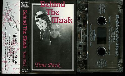 Behind The Mask Time Pack USA Cassette Tape private indie demo hard rock