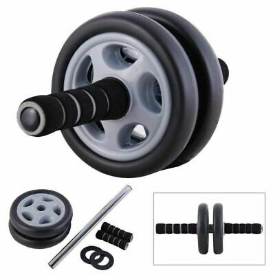 Abs Abdominal Wheel Roller Ab Core Body Training Strength Fitness Gym Exerciser