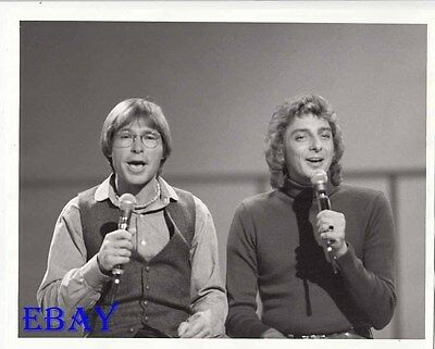 John Denver Barry Manilow Special VINTAGE Photo