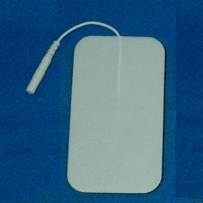 Large Tens Machine Replacement Electrode Pads 5x9cm Reusable Labour Maternity