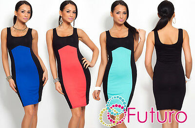 NEW Stunning Women's Two Colors Dress Scoop Neck Sleeveless Size 8-12 8442