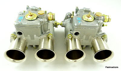 Weber Genuine Pair 45 Dcoe 9 Carbs/carburettors Historic Road-Race-Rally