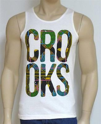 1d1352600048f NWT  30 CROOKS CASTLES Weed Tank Top large Black The Original High ...