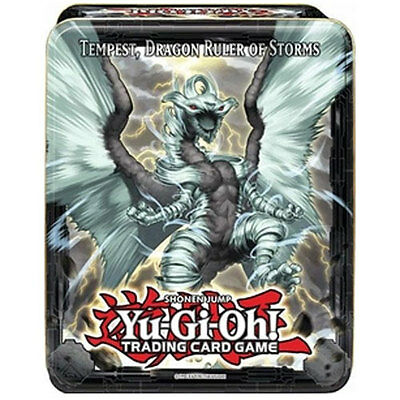 Yu-Gi-Oh Cards - 2013 Collectors Tin - TEMPEST, DRAGON RULER OF STORMS - New