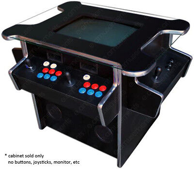 Table Top Cocktail Jamma Arcade Machine Flat Pack Kit