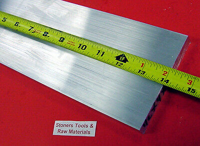 "1/2"" X 4"" ALUMINUM 6061 FLAT BAR 14"" long Solid T6511 .50"" PLATE NEW Mill Stock"