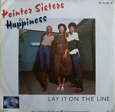 "7"" 1978 KULT MINT- ! POINTER SISTERS : Happiness"