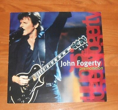 John Fogerty Premonition Double Sided Flat Square Poster 12 x 12