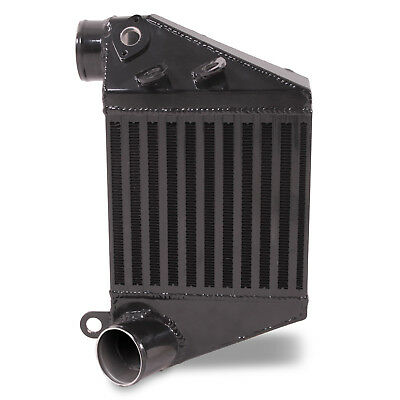 Direnza Black Alloy Side Mount Intercooler Smic For Vw Golf Mk4 1.9 Tdi 97-04