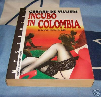 Incubo in colombia G. de Villiers  Mystbooks 18