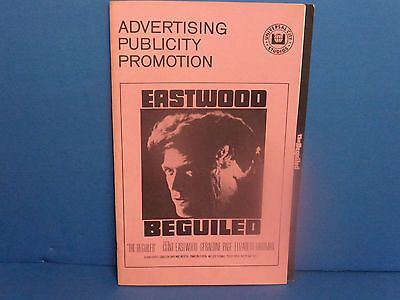 Clint Eastwood Beguiled Pressbook movie publicity advertising promotion 1971
