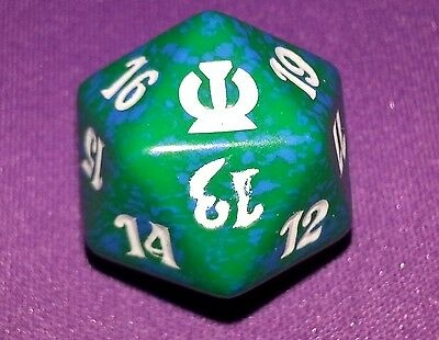 10 Green SPINDOWN Dice Theros 20 sided Spin Down Die MtG Magic the Gathering d20