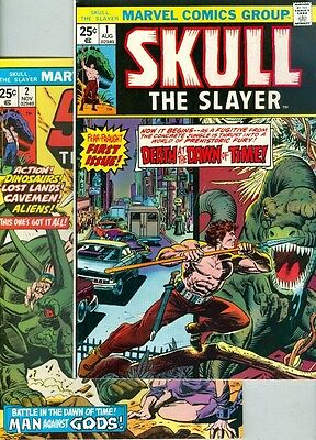 Skull the Slayer #1, #2, #3, #4, #5, #6, #7 and #8 F/VF Complete Set