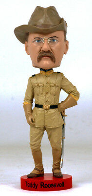 Teddy Roosevelt New  Limited Edition Bobblehead