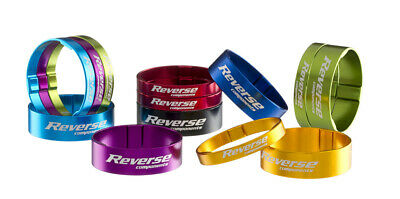 """REVERSE SPACER SET ALLOY ULTRA - LIGHT 1 1/8"""" ALLE FARBEN   GO CYCLE Shop"""