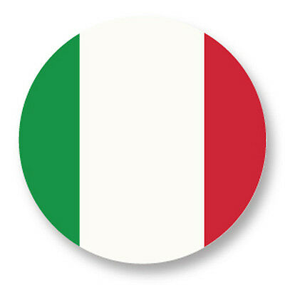 "Pin Button Badge Ø25mm 1"" Drapeau Flag Echarpe Maillot Italie Italy IT"
