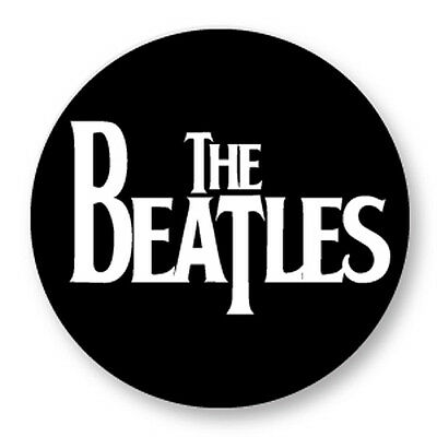 "Pin Button Badge Ø25mm 1"" The Beatles UK John Lennon McCartney Rock Liverpool"